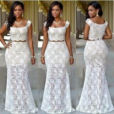 new arrival two piece african prom dresses 2017 bridal outfits dresses evening wear party dresses dinner dresses African Prom Dresses, African Wedding Dress, Prom Dresses 2017, African Fashion Dresses, Ghanaian Fashion, Ankara Fashion, Fashion Outfits, Fashion 2018, Dress Wedding