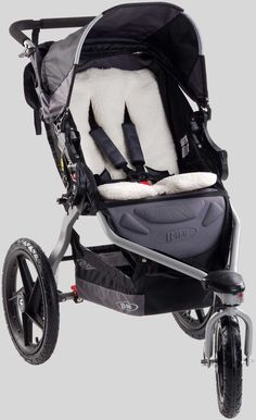 BOB Warm Fuzzy - keeping baby cozy with thick fleece paneling and quilted padding - BOB Stroller Accessories | BOB