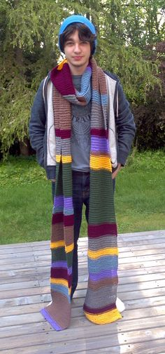 Dr. Who anniversary Super Scarf