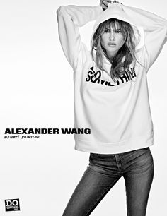 Behati Prinsloo for Alexander Wang 'Do Something' Project