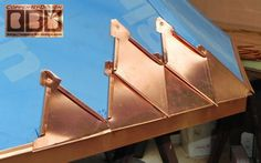 CBD's Brown-Umberger Custom Copper Covered Turret Work Page
