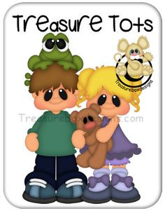 Treasure Tots Brother & Sister - Treasure Box Designs Patterns & Cutting Files (SVG,WPC,GSD,DXF,AI,JPEG)