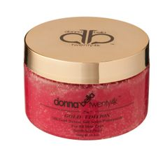 Body Scrub Pomegranate:  $99.95:  http://www.donnabella24k.com/product/deluxe-body-scrub-pomegranate-380-gr/  Our scrub will peel away the top layer of dead skin cells to rejuvenate your skin. #beauty #cosmetics #skincare #health #donna #bella #24k