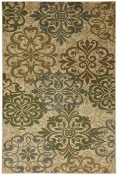 Townhouse Rugs Vintage Lace Area Rug, 96 by 120-Inch, Beige by American Rug by Mohawk, http://www.amazon.com/dp/B00AFYWVX0/ref=cm_sw_r_pi_dp_2LxGsb1FHQ6V2