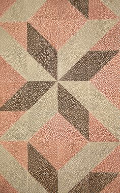 Rupert Bevan - Interior Finishes - Dyed ShagreenMosaic