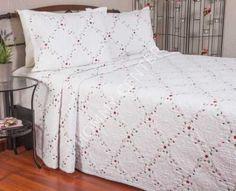 Begonville Lianna Krem Yatak Örtüsü Çift Kişilik | Begonville | Yatak Setleri