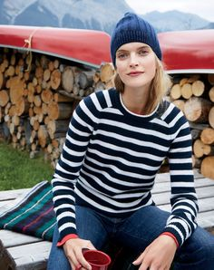 5 Winter Styling Tips From J.Crew's Charming New Shoot via @WhoWhatWearUK