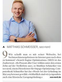 """Läuft weiter #seonerd: ein Kurz-Portrait Eurer Lieblings-SEO-Agentur im neuen """"Köpfe""""-Heft"""