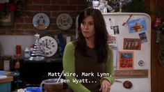 The one where Rachel dated Ben Wyatt from Parks and Recreation