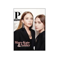 Mary-Kate and Ashley Olsen star on the cover of Post Magazine. #style #fashion #olsentwins #beauty