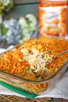 Tuna Noodle Casserole - with some gf modifications, this would send me back to my childhood!