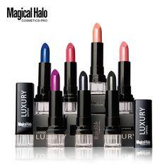 Lo nuevo Impermeable Elegante mate lápiz labial maquillaje de labios bálsamo de labios de larga duración para las mujeres sexy conjunto lápiz labial Nutritivo