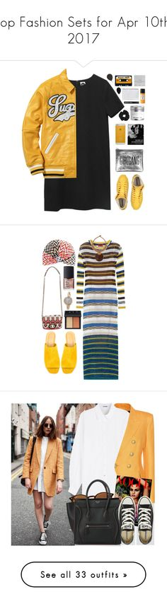 """Top Fashion Sets for Apr 10th, 2017"" by polyvore ❤ liked on Polyvore featuring Sarah Baily, Acqua di Parma, ASOS, Aspinal of London, Dogeared, beautyblender, Topshop, Missoni, Maryam Nassir Zadeh and NOVICA"
