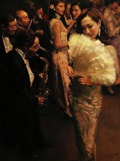 Chen Yifei ~ Chinese Romantic Realism painter | Tutt'Art@ | Pittura * Scultura * Poesia * Musica |