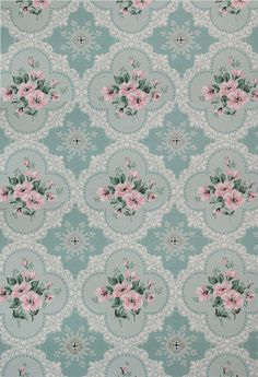 Tapestry Wallpaper, Doll House Wallpaper, Fabric Wallpaper, Flower Wallpaper, Papel Vintage, Decoupage Vintage, Decoupage Paper, Vintage Paper, Shabby Chic Wallpaper