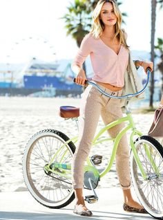 Show Me a Bike: Candice Swanepoel on Wheels