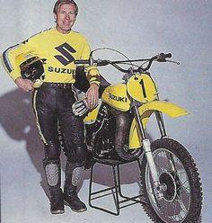 Roger DeCoster  (The Man) 5-voudig Wereldkampioen 500 cc ! In 1971, 1972, 1973, 1975 en 1976.