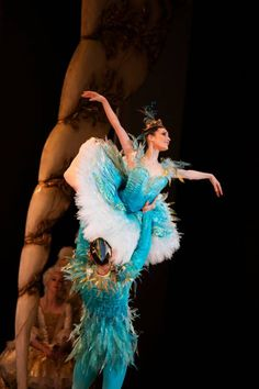 "Jessica Fyfe and Marcus Morelli, ""The Sleeping Beauty"" choreography by David McAllister, The Australian Ballet"