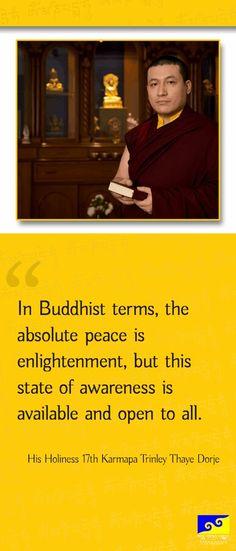 by His Holiness 17th Karmapa Trinley Thaye Dorje