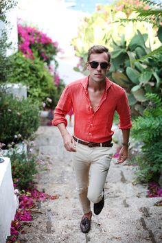 MenStyle1- Men's Style Blog - Summer style inspiration. FOLLOW : Guidomaggi...