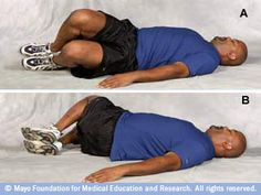 Use these core-strength exercises to tone your core muscles, including abs, back and pelvis. Sciatic Nerve Exercises, Sciatic Nerve Relief, Sciatica Stretches, Sciatica Pain, Core Strength Exercises, Strength Workout, Core Exercises, Sports Therapy, Tight Hip Flexors