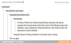 Or Orlando Bloom chasing a flying sock