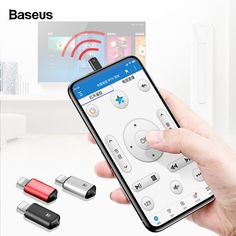 Remote Controls Baseus Mini Keychain Remote Control For Samsung Huawei Type-c Usb C Interface Smart Ir Controller Adapter For Tv Aircondition Attractive And Durable