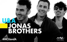 We've got the Jonas Brothers in today! Want to ask... | Music Choice