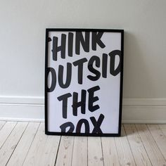 Think Outside The Box, now featured on Fab.