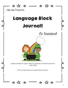 France, Grade 3, March, Language, Student, Journal, Activities, Languages, Mac
