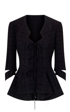 Punk-Style Peplum Suit Jacket by Roland Mouret - ($2,115)