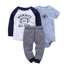 Floralby 3Pcs Baby Boys Girls Top T-Shirt Pants Stars Hat Striped Outfits Set