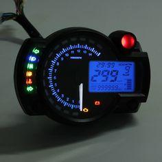 Motorcycle Odometer Speedometer Tachometer