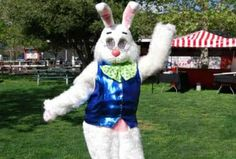 Meet the Easter Bunny $10.00 per visit  Saturday - Sunday: 10:00 am – 4:00 pm Monday - Friday: 10:00 am – 2:00 pm   For the cost of $10.00, children can meet and have their photo taken with the Easter Bunny. This includes one complimentary Irvine Park Railroad photo. Each additional print of the same photo is $6.00. Photos will be printed in a few, short minutes right at the booth.