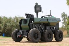 IAI Develops Unmanned Ground Vehicle