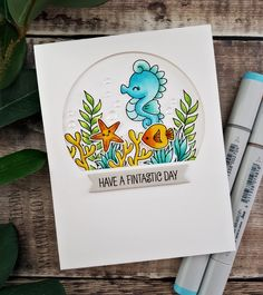 Have A Fintastic Day – Clearly Besotted Teasers Colorful Fish, Tropical Fish, Aquarium Fish, Freshwater Aquarium, African Cichlids, Mft Stamps, Betta Fish, How To Take Photos, Plushies