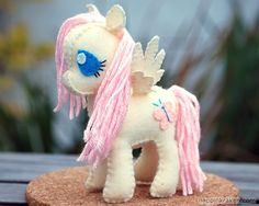 Fluttershy My Little Pony Petite Plush