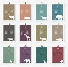 2013 calendar design. Click image for more info.