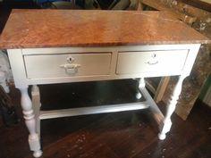 escritorio antiguo totalmente restaurado en mi taller espero os guste