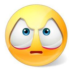Your best friend didn't show to the party or your English instructor just slammed your essay—this smiley is ready and able to express your disappointment and disdain! Fb Smileys, Facebook Smileys, Emoji Images, Cartoon Images, Clipart Smiley, Funny Emoji Faces, Smiley Emoji, Thought Of The Day, Smile Face