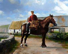 Blasket Islander - Irish painting