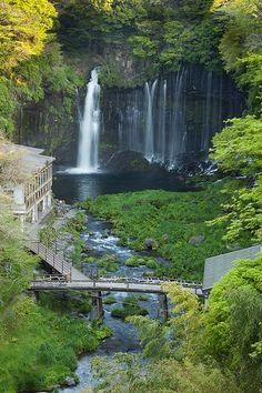 Shiraito Falls, Fuji-Hakone-Izu National Park, Shizuoka, Japan