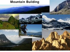Mountain Building                    Chapter                        11