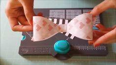 WRMK Envelope Punch Board Bow Tutorial