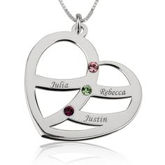 Unite all your loved ones in this stunningSwarovski Birthstone Mother Necklace . Engrave this personalized necklace with up to six names of the people you hold closest to your heart.