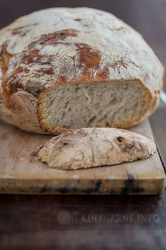 My Favorite Food, Favorite Recipes, Bread Recipes, Cooking Recipes, Bread Board, Bread Baking, Bacon, Food And Drink, Breads