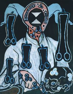 Francis Picabia, Portrait of a Doctor, 1935-38.