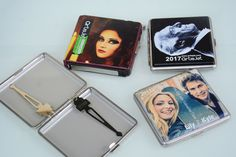 https://flic.kr/p/PJBN4D | Metallic - leather coated cigarette case LED UV printing | Direct LED UV printing on leather coated metallic cigarette case. Achieve glossy and glitter printer effects even when printing on leather.  www.artisjet.com info@artisjet.com artisjet.com/index.php/en/en-contact-us