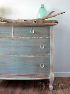 beachy wood plank dresser, helen nichole designs, milk paint, white washed furniture .