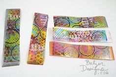 Gelli packing tape [http://balzerdesigns.typepad.com/balzer_designs/2013/06/gelli-printed-packing-tape.html]